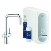 Grohe Blue Home Starter Kit 31543 auszb. Mousseur Bluetooth/WIFI U-Auslauf chrom, 31543000 31543000