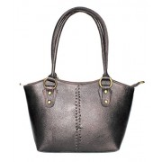 Stonkraft Women's Handbag (Black) (LthrBlkBag63)