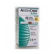 ROCHE DIABETES CARE ITALY SPA Accu Chek Active Strips 25pz