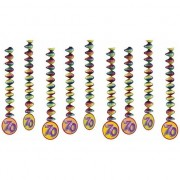Haza Feest rotorspiralen 70 jaar 9x