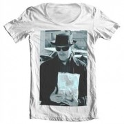Heisenberg Money Bag Wide Neck Tee, Wide Neck T-Shirt