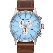 Ceas barbatesc Nixon A405-2547 Sentry Sky Blue Taupe 42mm 10ATM