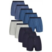 Mens Next Blue Loose Fit Ten Pack - Blue