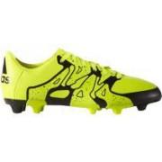 Ghete fotbal Adidas X 15.2 FG/AG B26933 verde/negru 40