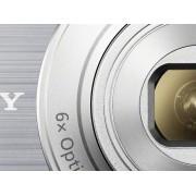 Sony Cyber-Shot DSC-W810S Digitalkamera 20.1 Megapixel Zoom (optisk): 6 x Silver