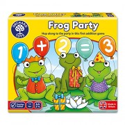 Orchard Toys Frog Party Board Game, Multi Color