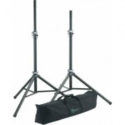 K&M Speaker Stand 6 ft PAIR-Lightweight aluminum stands & bag