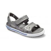 Crocs Preschool Crocband™ II Sandalen Kinder Slate Grey/Blue Jean 19