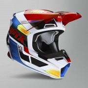 FOX Casco de Cross FOX V1 Yorr Niño Azul-Rojo