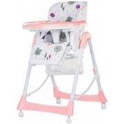 Scaun multifunctional pentru copii Chipolino Comfort Plus Hot Pink 2018 (Alb/Roz)
