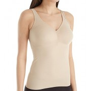 Miraclesuit Cool Choice Firm Control Wire-Free Camisole, L, Nude