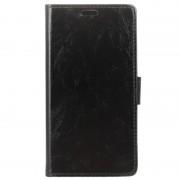 Bolsa Tipo Carteira Clássica para HTC U11+ - Preto