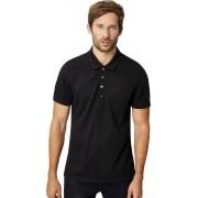 super.natural M's Comfort Piquet Poloshirt Jet Black 2018 S T-shirts & Kortärmade Vardagströjor