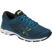 Asics Gel-Kayano 24 Running Shoes For Men(Blue, Black, Yellow)