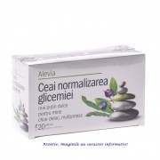 Ceai Normalizarea Glicemiei 20 plicuri Alevia