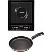 Butterfly ICT PT 2.0 Plus Kroma Omni Tawa Induction Cooktop(Black, Push Button)