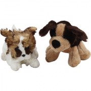 Set of 2 Soft small Puppy Toy