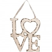 Decoratiune de agatat LOVE