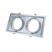 Optonica AR111 beépítő keret / króm / Billenthető / OT5084