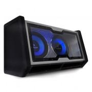 "Auna DUAL IN CAR HIFI, субуфер, 2 x12"", бас + светлинни ефекти (C8-SUB-2X12-42)"
