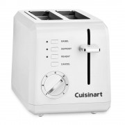 Cuisinart tostador cuisinart cpt-122 2 rebanadas blanco