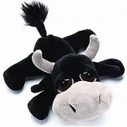 "Li'l Peepers - Toro the Bull (Black & Cream 10"" Plush Toy) by Russ Berrie"