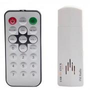 USB 2.0 TV analogica USB Stick w / Remote Controller