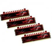 Memorie G.Skill Ripjaws 16GB (4x4GB) DDR3, 1066MHz, PC3-8500, CL7, Dual Channel, Quad Kit, F3-8500CL7Q-16GBRL