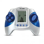 JXD Retro Cool Controller Style Electronic Game Handled Built-in 26 Games Tetris Game Console