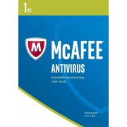 McAfee AntiVirus 1-PC 1 jaar
