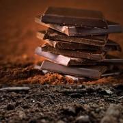 CIOCOLATA NEAGRĂ cu ACID HUMIC, FIBRE, fără zahăr (greutate optimă) 27 buc