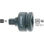 Hazet HAZET Adapter voor krachtschroevendraaier 1007S-1 . Vierkant hol 20 mm (3/4 inch) . Vierkant massief 12,5 mm (1/2 inch)