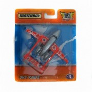 Matchbox Sky Busters Missions Sky Knife Red & Gray