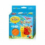 Plastilina modelaj Orange Elephant Snail 4 culori
