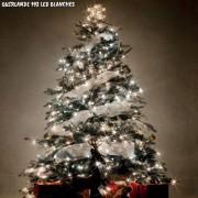 Guirlande de noël à piles 192 LED blanches