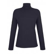 Alba Moda Pullover mit tonigem Strass, blau