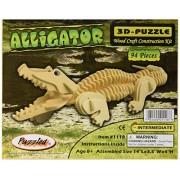 Puzzled 3D Alligator Puzzle