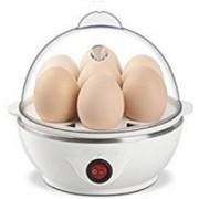 GOCART New 7 Egg Boiler New In White Color Egg Cooker(7 Eggs)