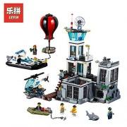 Generic Lepin 02006 The Prison Island Set DIY City Series 60130 Building Blocks Self-Locking Bricks Educational Toys birthday's Gifts