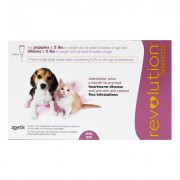 Revolution For Kittens / Puppies (Pink) 6 + 1 Free Dose