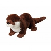 Speelgoed pluche knuffel otter 30 cm