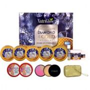 Platinum Diamond Facial Kit (250+10) g with Makeup Kit