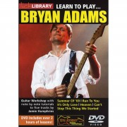 Roadrock International Lick Library: Learn To Play Bryan Adams DVD