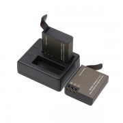 iMars™ PG1050 Rechargeable Dual Battery and Charger for Eken V8s H8 H9 H8R H9R Sport Action Camera