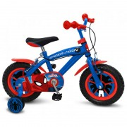 Bicicleta Spiderman 14 inch Stamp