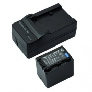 Mondpalast @ 1X Remplacement Batterie VBT380 + Chargeur pour Panasonic HC-V110, V130, V160, V180