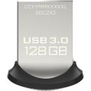 SanDisk Ultra Fit USB 3.0 128 GB Pen Drive(Black)