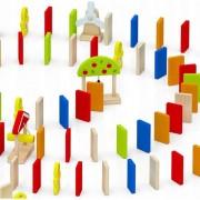 Domino dinamic din lemn, Viga