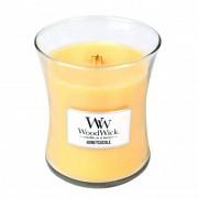 WoodWick Lumânare parfumată în vază Honeysuckle 275 g
