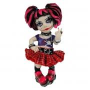 dekoráció (baba) Little Miss Rebel - C0746C4